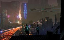 Night City Cyberpunk Red