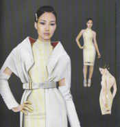 Hanako Arasaka Artbook ConceptArt