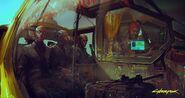 Concept art 2 - Cyberpunk 2077