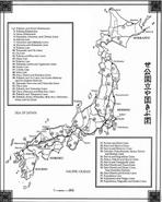Japan Rail lines