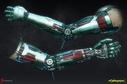 Металлическая рука Джонни (модель3)