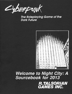 Welcome to Night City cover