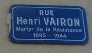 Rue Henri Vairon
