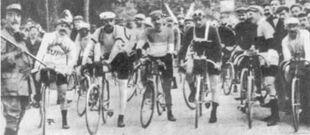 1907 TdF Départ