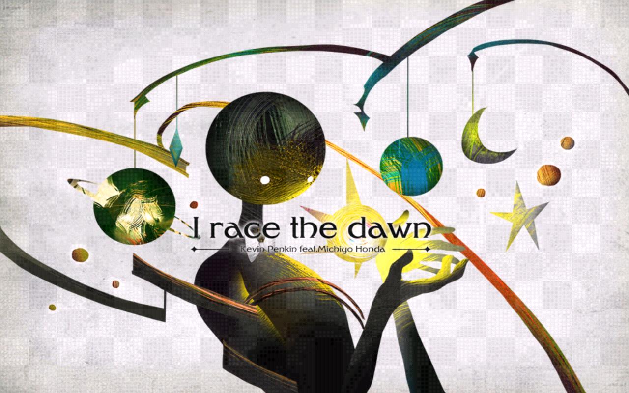 I race the dawn