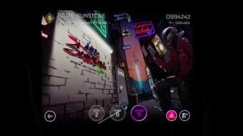 Cytus II -「IOLITE-SUNSTONE」 INSPION - gameplay clip