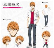Kenji Kazama (Character Art)