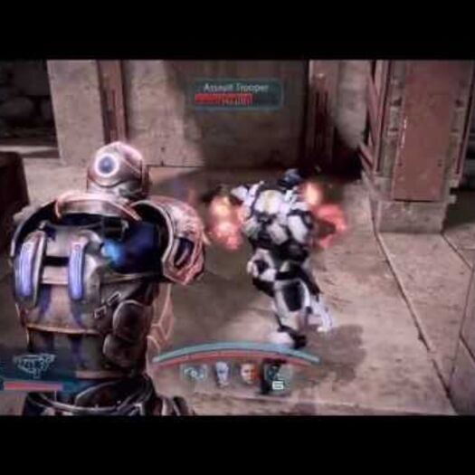 Mass Effect 3: Sentinel completely immune to damage (Single player)