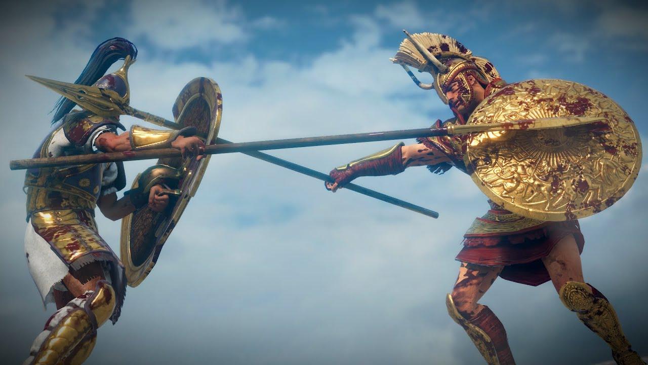 Achilles vs Hector - Total War Saga: Troy Cinematic Legendary Duel