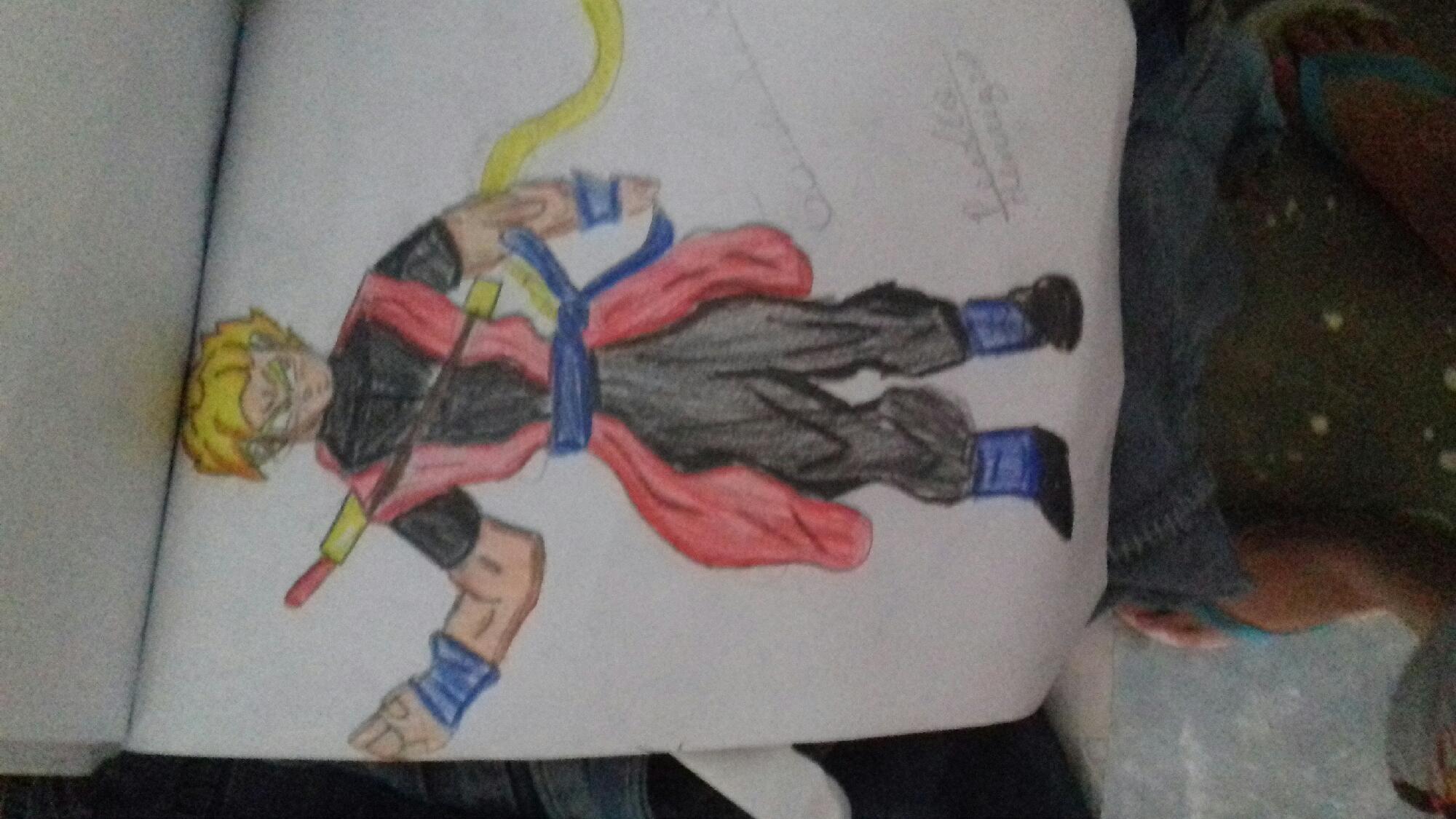 Goku xeno ssj 2