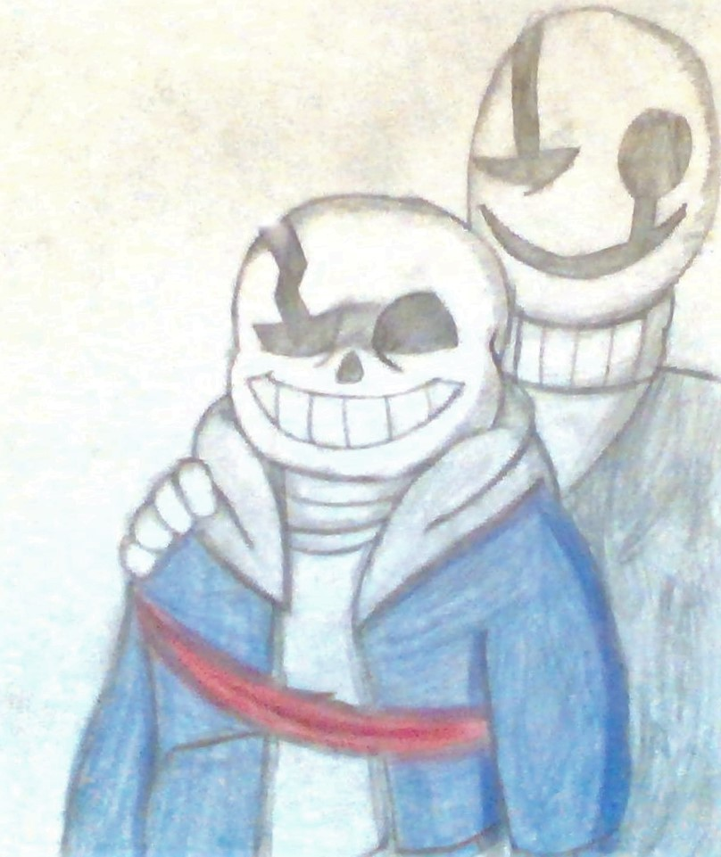 Ok Per Request Of 4 People Here Is My Sans Drawing Fandom