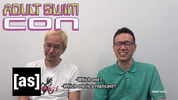 Blade Runner: Black Lotus Co-Director Interview | Toonami Special Edition | Adult Swim Con