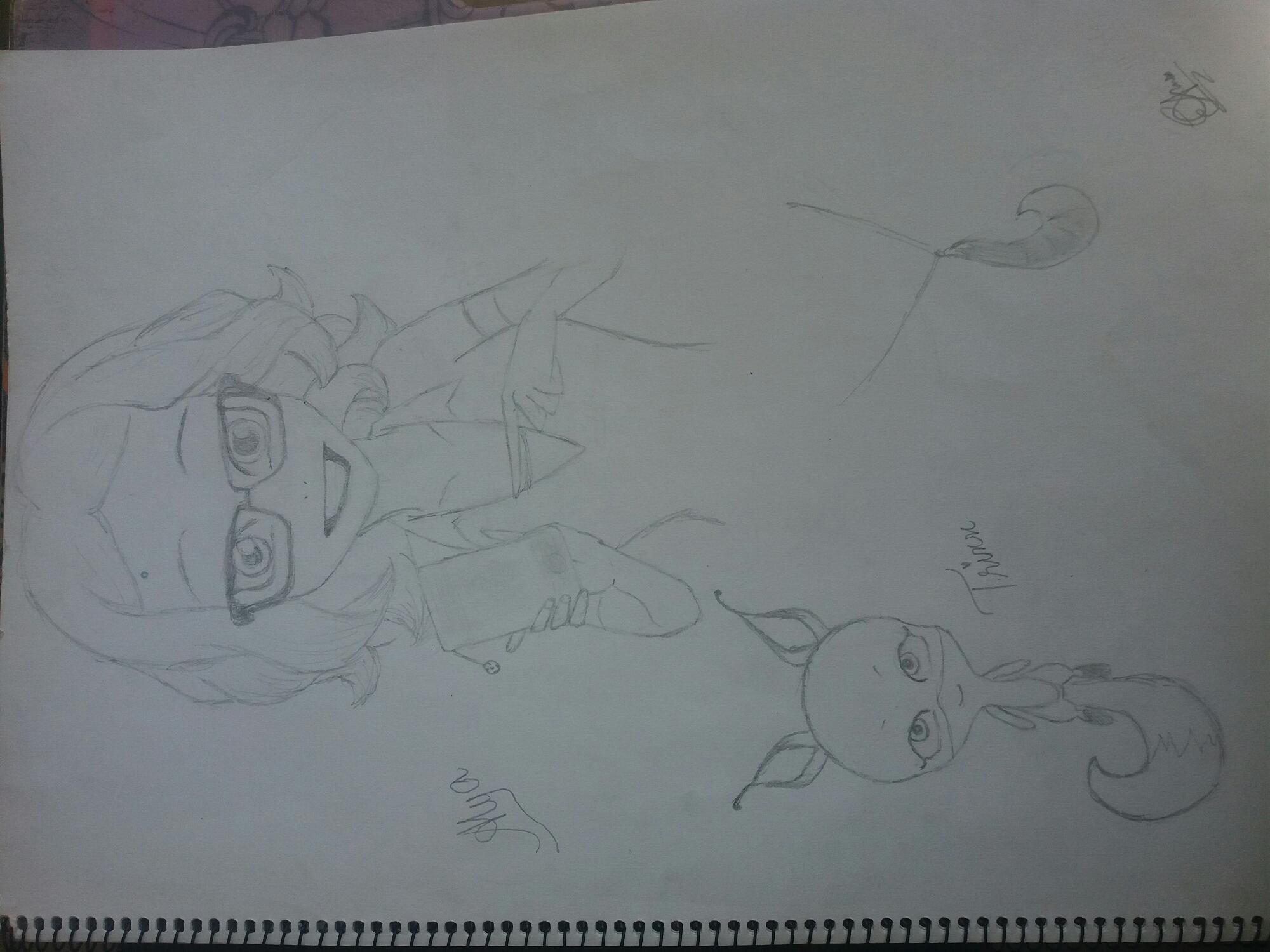 Alya's drawing