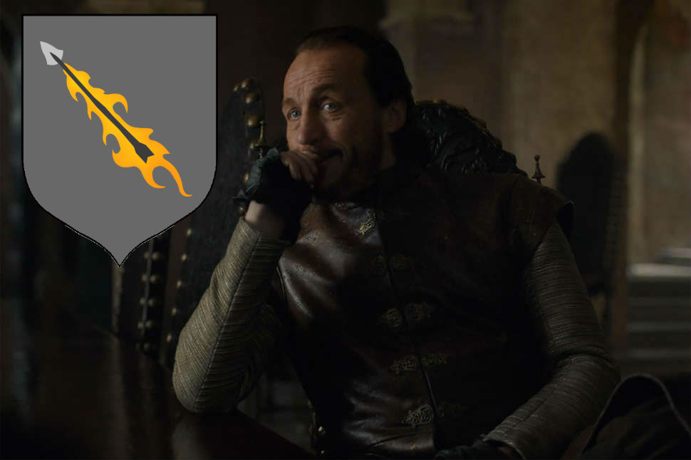 What should Bronn call his house? What about his house words?