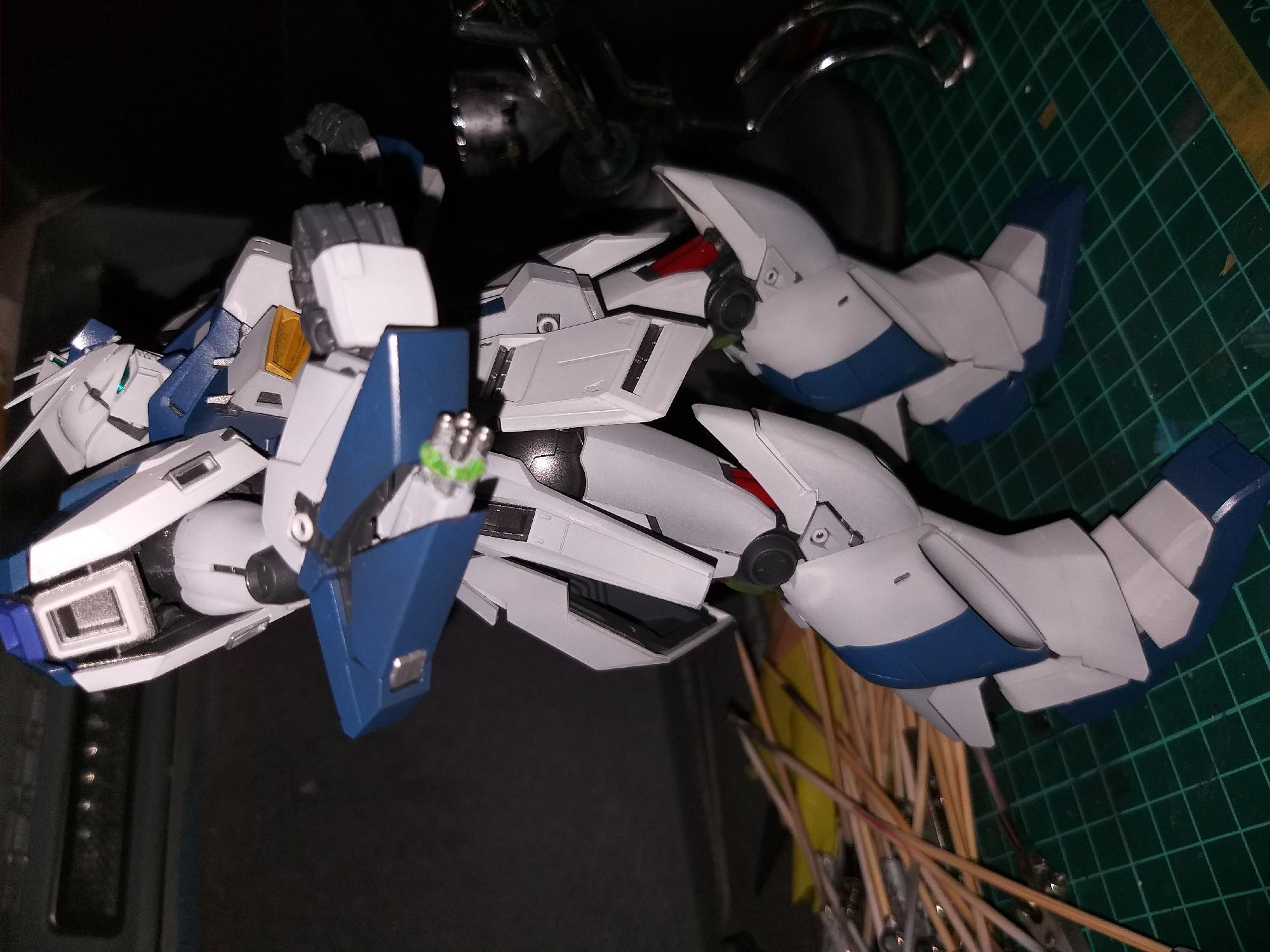 Hi-v gundam coming together nicely so far.