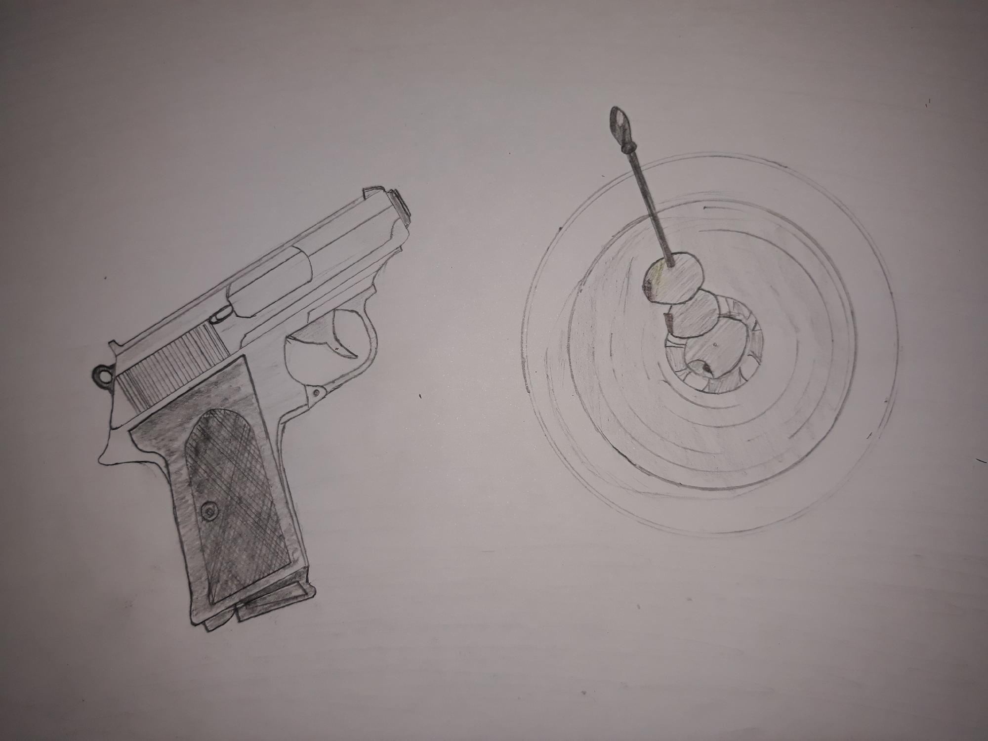 What do you think about my fanmade 007 drawing?