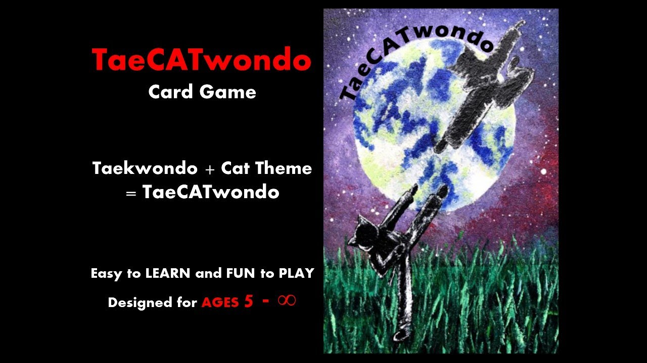 TaeCATwondo Card Game
