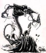 Necron Wraith Artwork