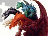 Tiamat, Great-Great-Great Wyrm Polychromatic Dragon
