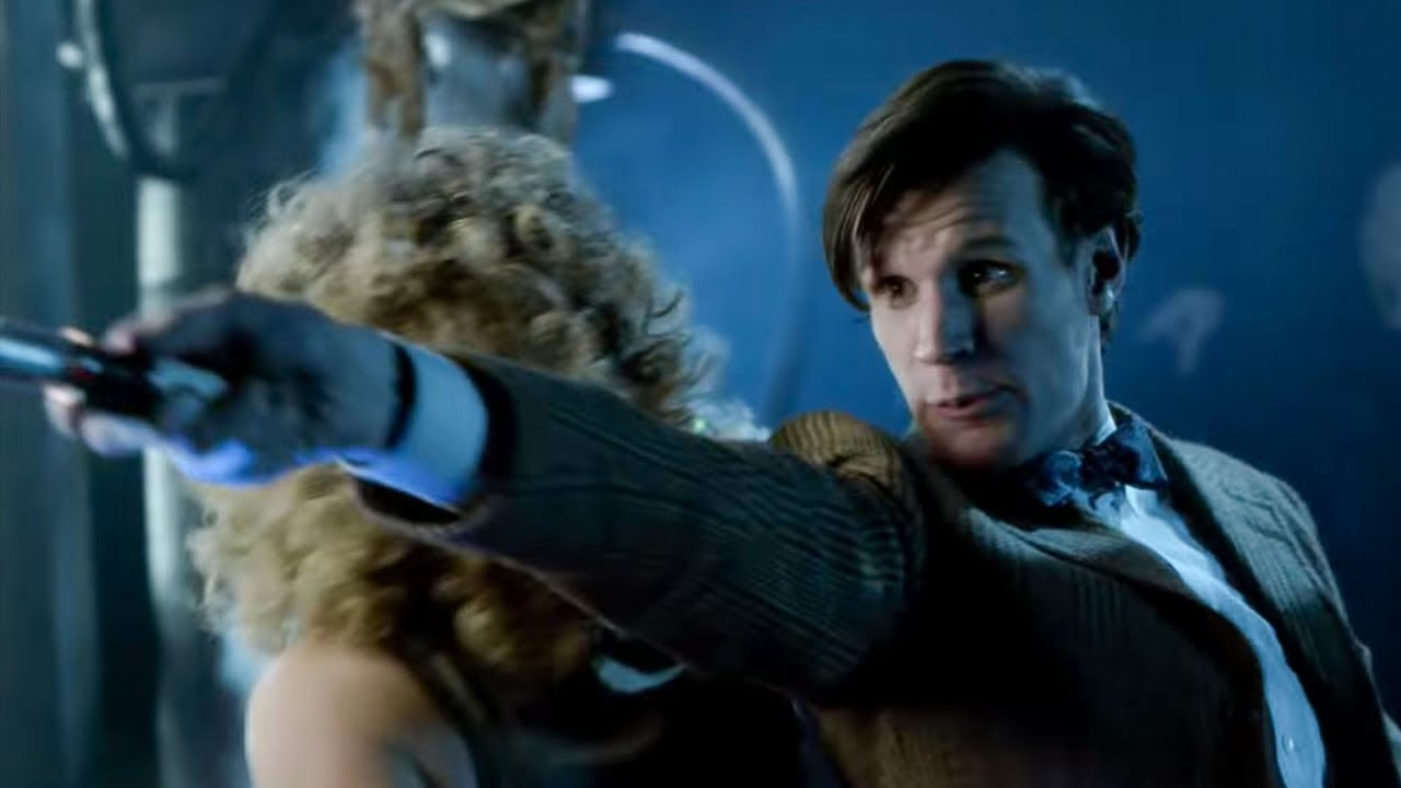 The Doctor Defeats The Silence   Day Of The Moon   Doctor Who