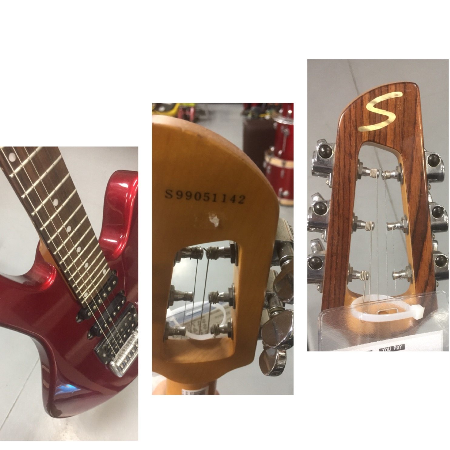 Open Frame Headstock Electric