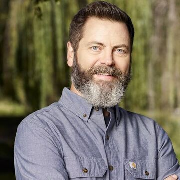Nick Offerman, host of Making It on NBC