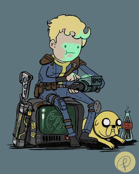 Imagens do fallout