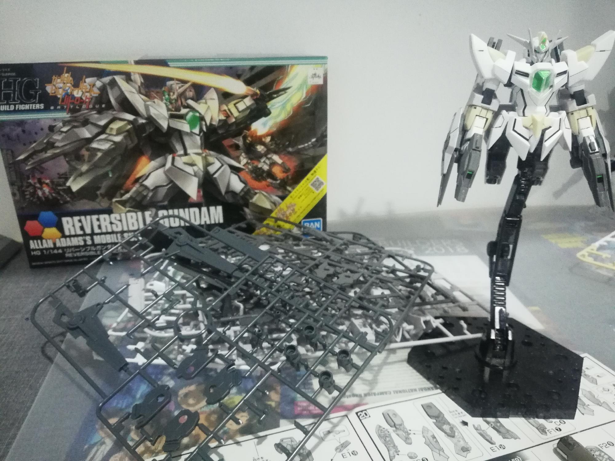 New W.I.P HG Reversible Gundam