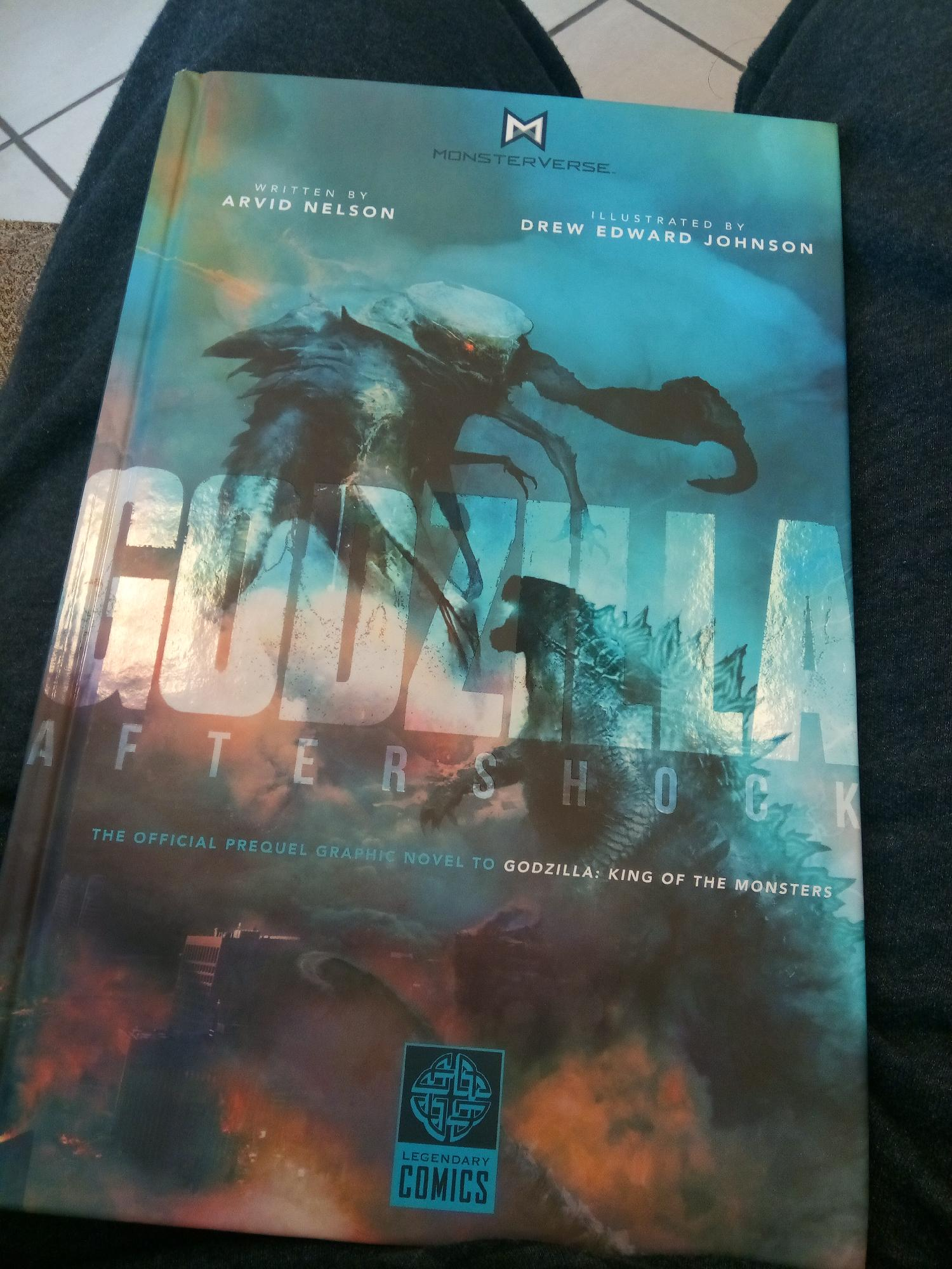 Godzilla Aftershock is out in Barnes and Nobles
