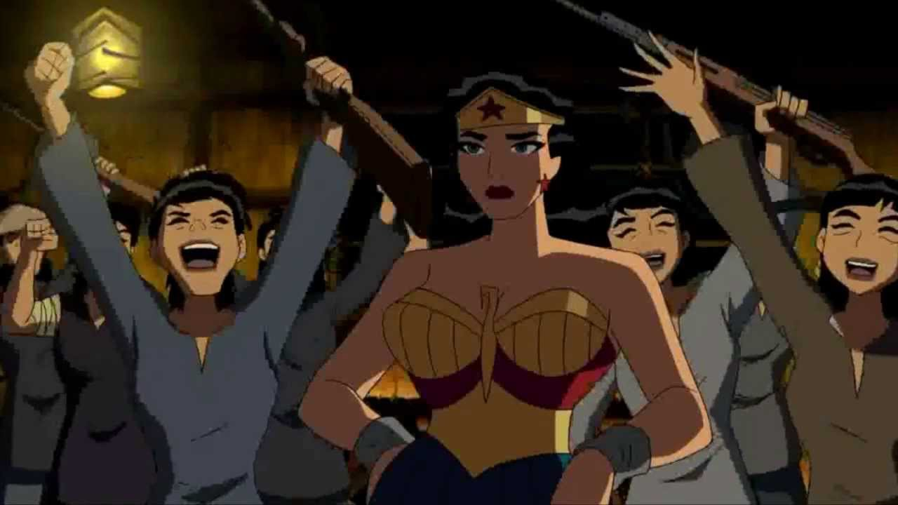 Image result for Justice League: The New Frontier movie