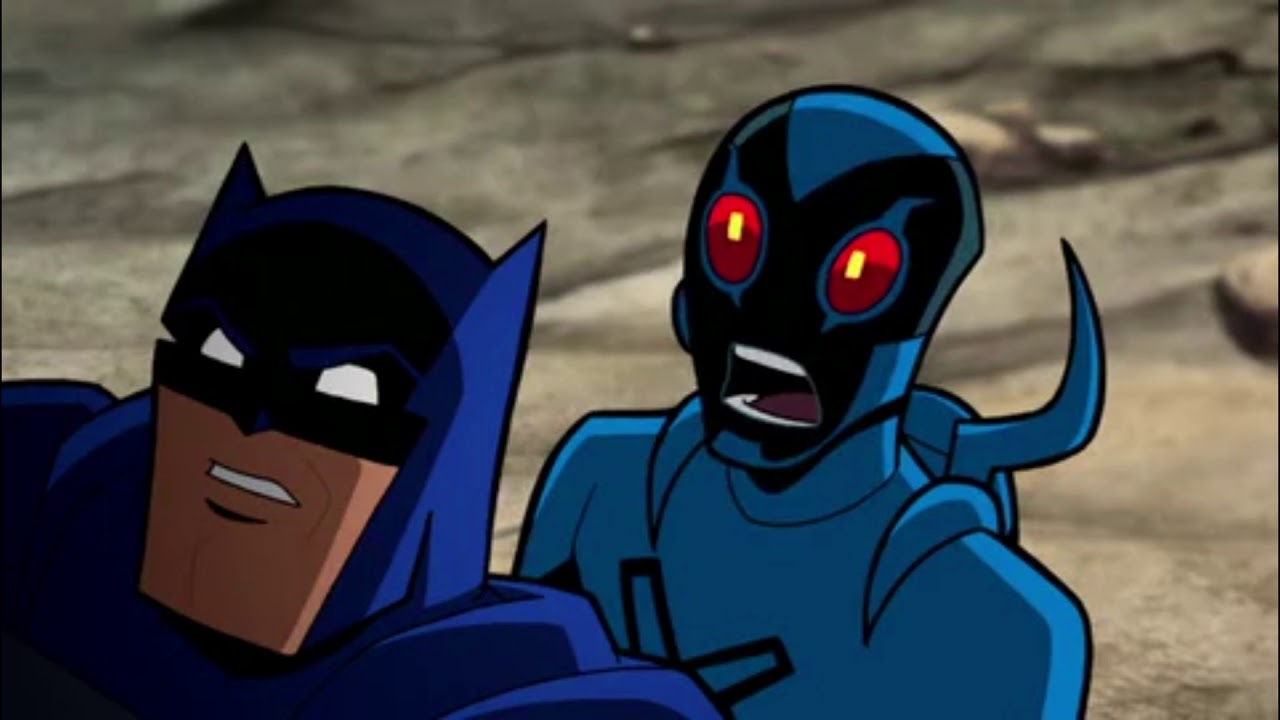 Batman and the beatle