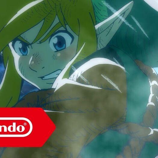 The Legend of Zelda: Link's Awakening - Bande-annonce (Nintendo Switch)