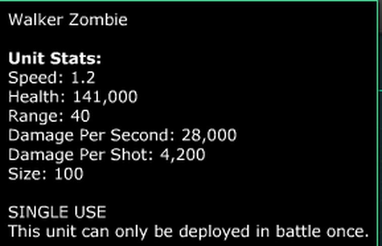 walker zombie