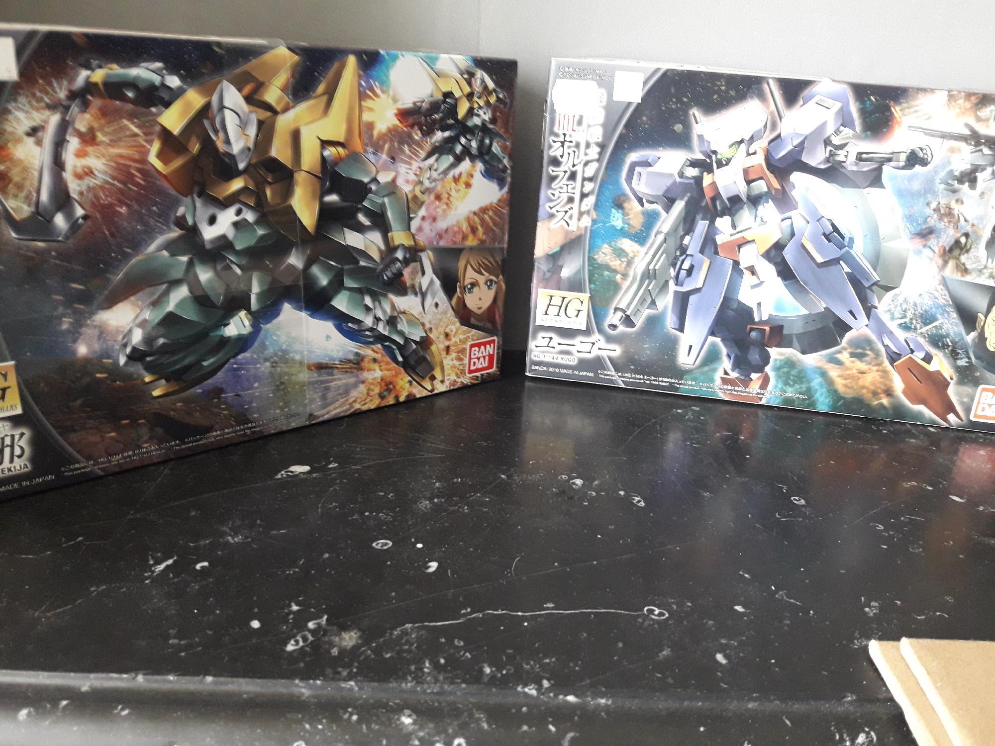 My new gundam kits
