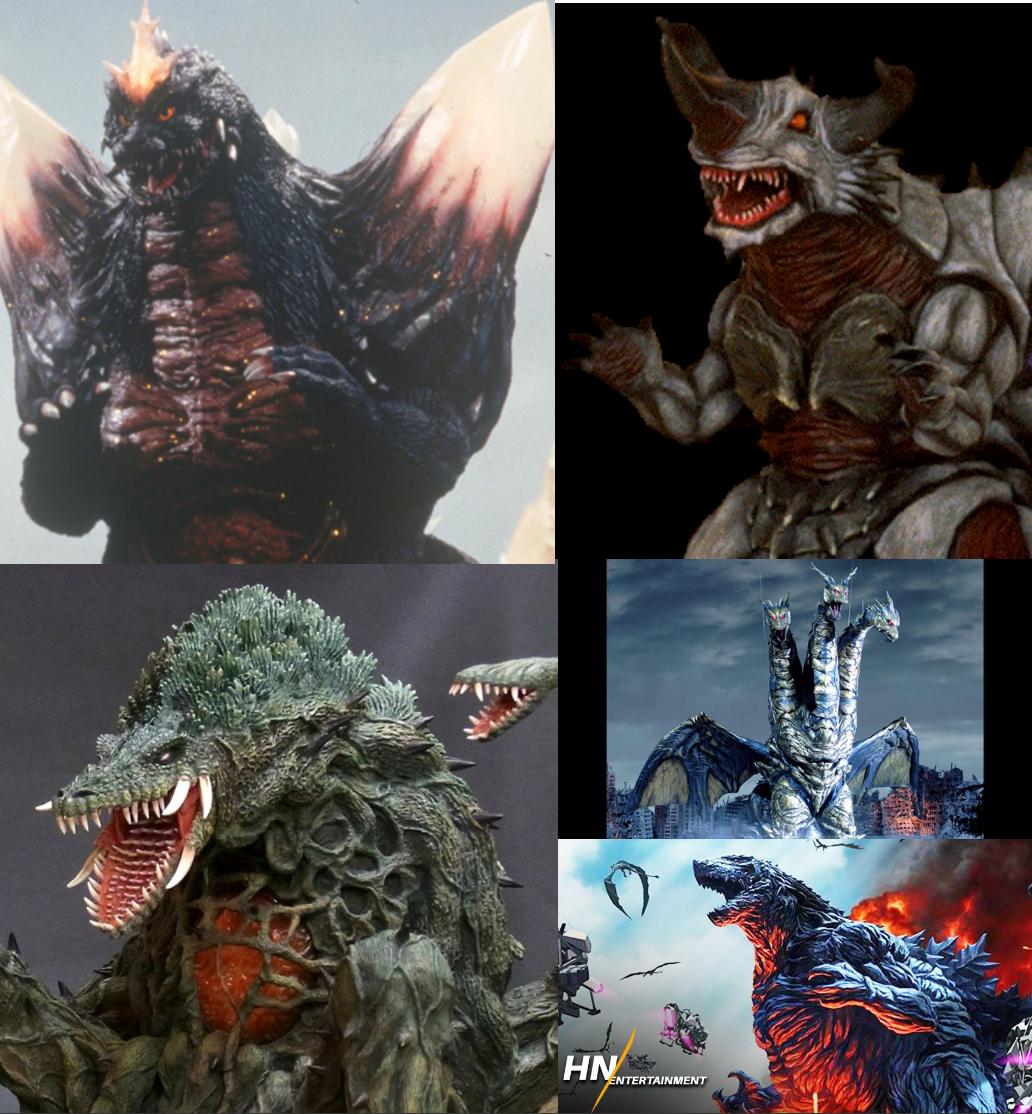 Die Top 4 der schwersten Kaiju's