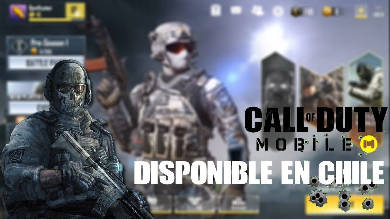 Call Of Duty mobile ya Disponible en Chile - primer Gameplay