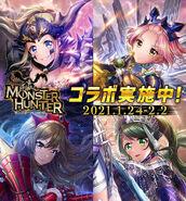 D4DJ Groovy Mix Monster Hunter Collaboration KV V2 Alternate