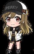 Initial (Yamate Kyoko) chibi 1