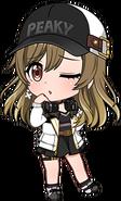 Initial (Yamate Kyoko) chibi 3
