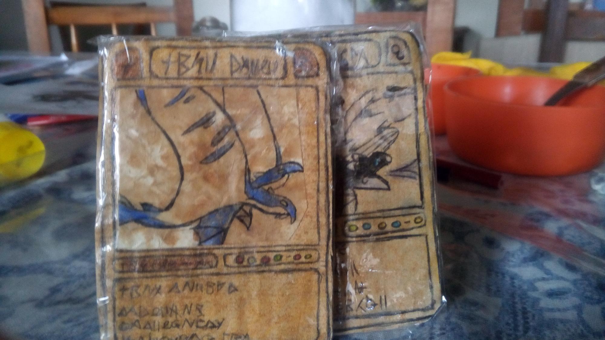 Empece a hacer mis propias cartas de dragon!! Digan cuál es el siguiente,