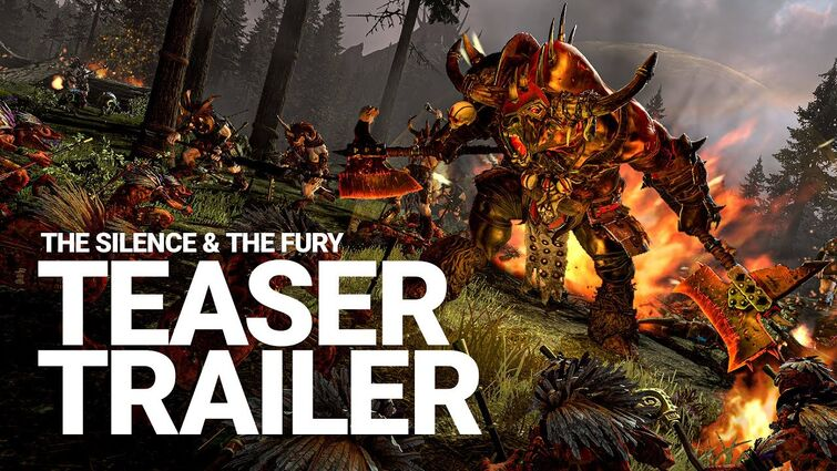 The Silence & The Fury Teaser Trailer   Total War: WARHAMMER 2