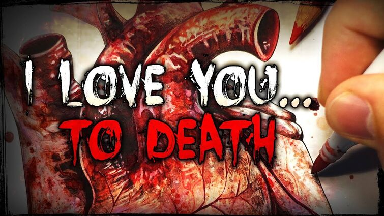 A Love Story... With A HORRIFIC End   Creepypasta + Drawing