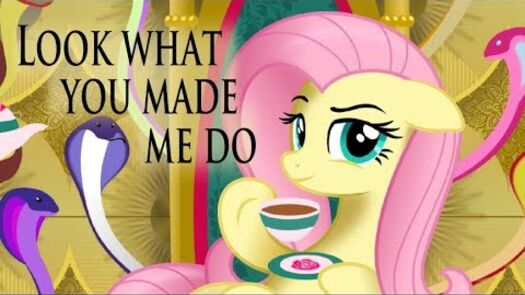 Look What You Made Me Do (Fluttershy Cover) - YouTube