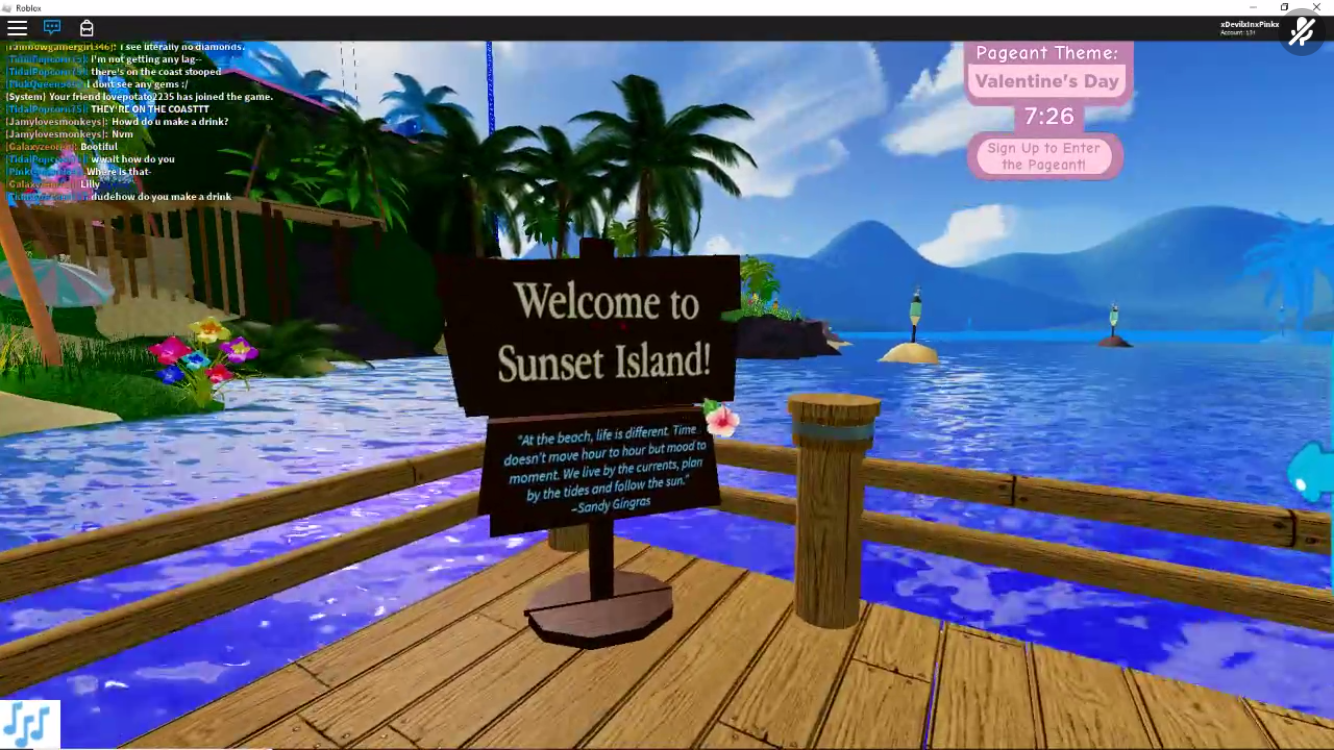 Roblox Royale High Sunset Island Pageant
