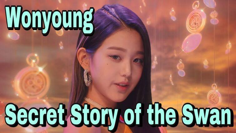 IZ*ONE - Secret Story of the Swan MV (Wonyoung focus)