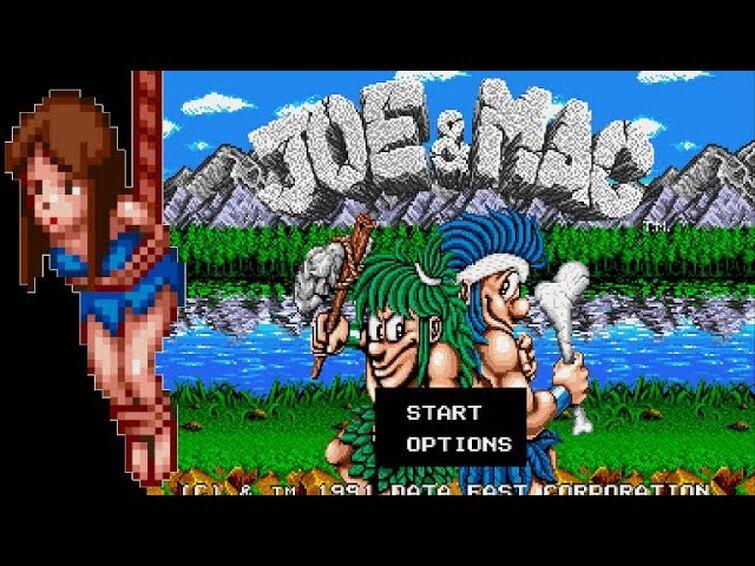 HARDEST Game of the Week! Joe & Mac (Sega Genesis)
