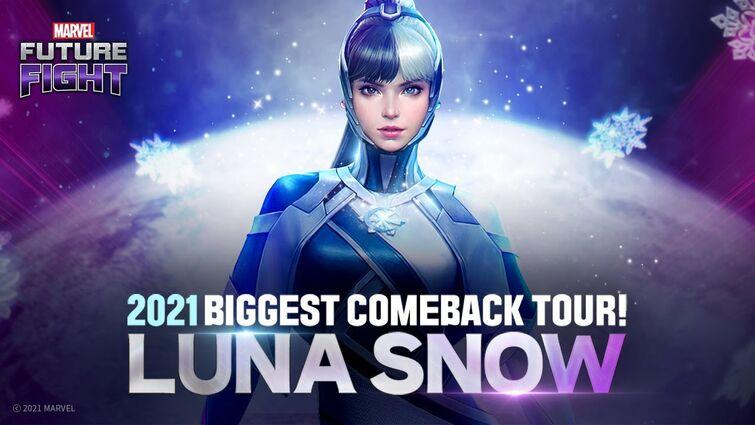 [MARVEL Future Fight] Luna Snow - Fly Away