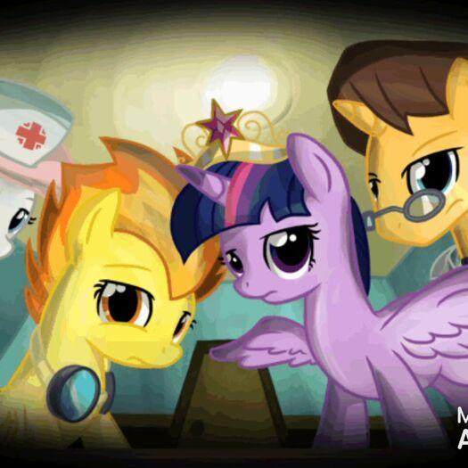 Sad my little pony parte 7