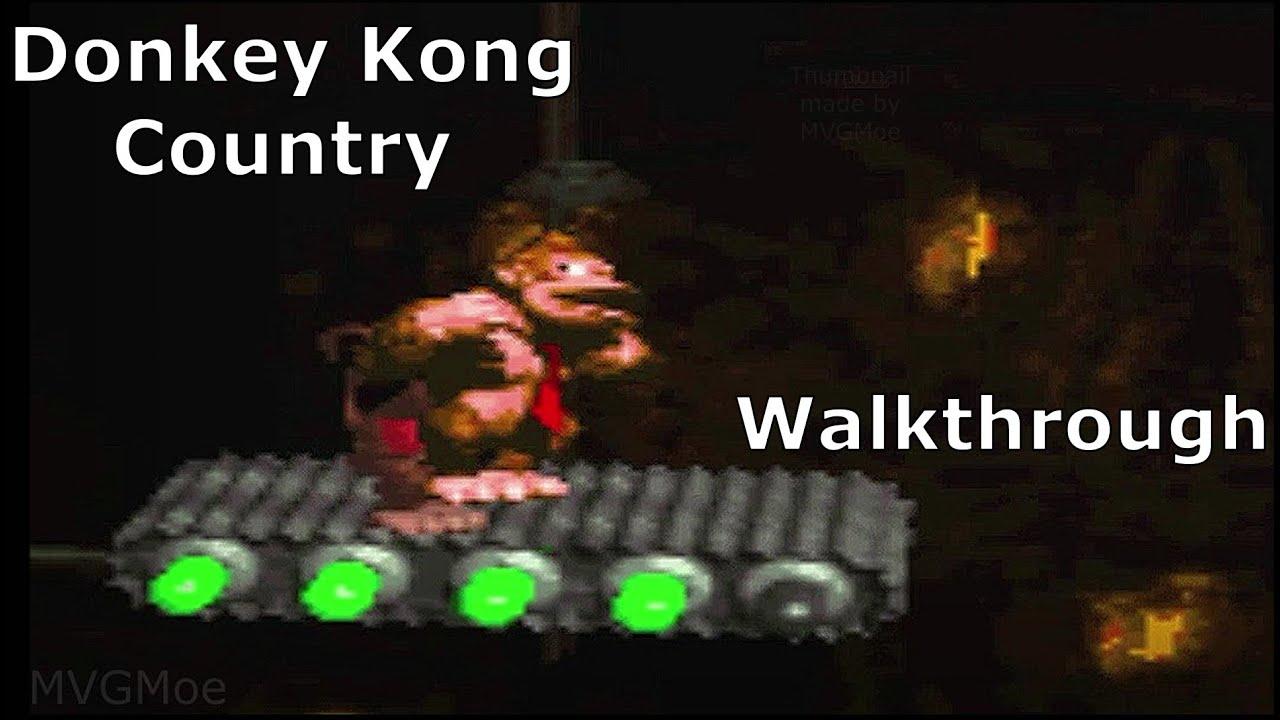 Donkey Kong Country Walkthrough/Playthrough [Snes]