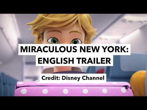 NEW Miraculous New York Trailer: English